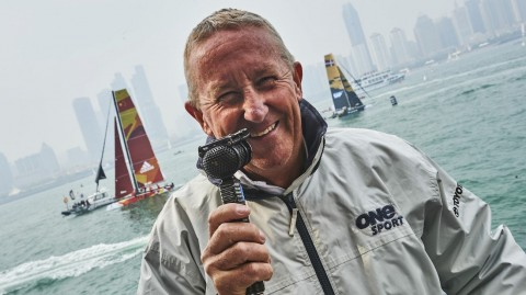 "Peter Lester: ""Foiling is the future of the Extreme Sailing Series™ - and it's exciting."""