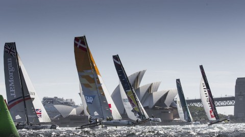 Spithill and Jackson team-up for Extreme 40 showdown in Sydney
