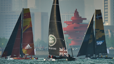 Qingdao gives a taste of what to expect during practice racing