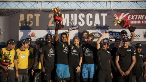 The Wave, Muscat victorious on home waters at Extreme Sailing Series™