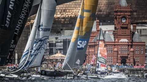 Extreme Sailing Series™ fleet poised for toughest test to date in Cardiff