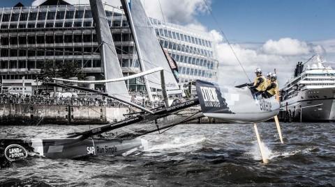 Extreme Sailing Series 2016: è il momento di Amburgo