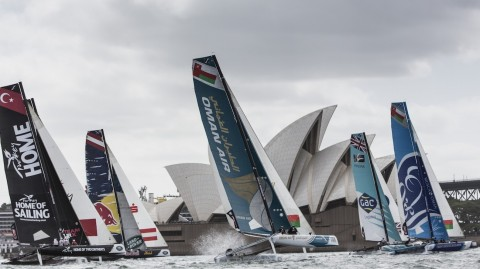 Team Australia to join the line-up at Extreme Sailing Series™ Sydney showdown