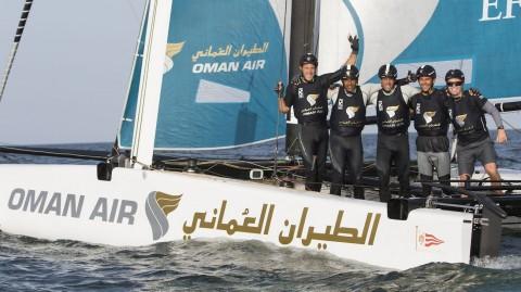 Oman Air consigue la victoria en casa en una jornada sensacional en Omán