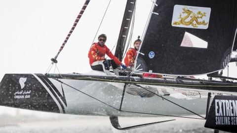 Extreme Sailing Series™ crews predict Qingdao thriller on eve of Act 2