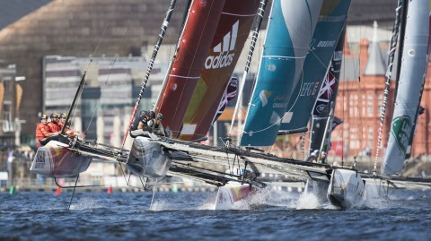 Act 3 leaderboard compresses as Cardiff Bay delivers spectacular Stadium Racing