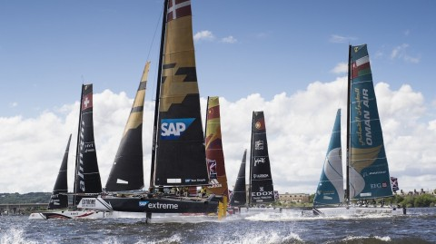 Extreme Sailing Series™ - Act 3, Cardiff day-by-day guide
