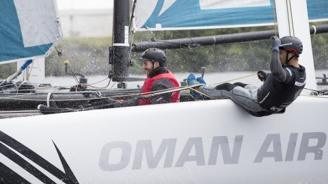 Welsh sports stars take off with the Extreme Sailing Series™
