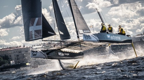 SAP Sailing Analytics helping Extreme Sailing Series™ push boundaries of sport