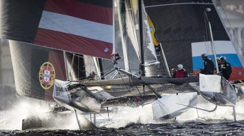 El equipo de EE.UU. Vega Racing se une a las Extreme Sailing Series™ en su primer Acto en Madeira