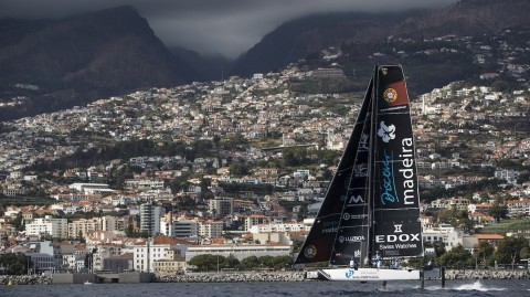 Madeiran President gives thumbs up to island chain's first Extreme Sailing Series event