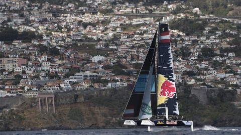 Red Bull Sailing Team emerge top as Extreme Sailing Series™ makes its Madeira debut