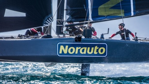 NORAUTO powered by Groupama Team France to make Extreme Sailing Series™ debut
