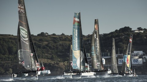 The stage is set for a grand foiling Extreme Sailing Series™ finale in Sydney