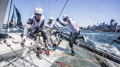 The first foiling champions in Extreme Sailing Series™ history are ready to go again