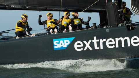 SAP Extreme Sailing Team clinch opening win of 2017 Extreme Sailing Series™
