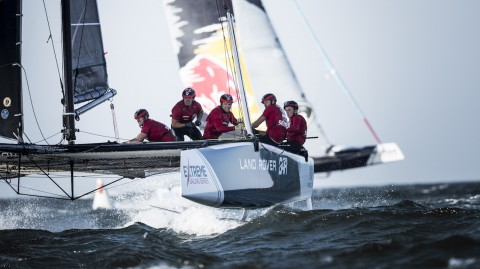 Extreme Sailing Series™ young guns head to Red Bull Youth America's Cup