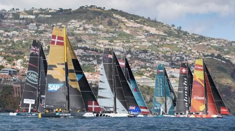 SAP Extreme Sailing Team führt nach Tag eins vor Madeira