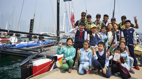 Extreme Sailing Series™ inspires China's future sailing stars
