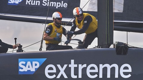 VIDEO: SAP EXTREME SAILING TEAM TAKES YOU THROUGH THE TEAM'S GRUELLING FITNESS REGIMES