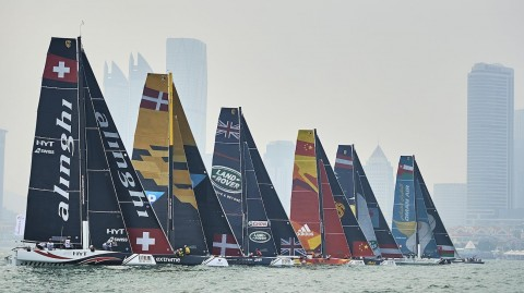 Thrilling Qingdao showdown forecast for Extreme Sailing Series™ Act 2 finale