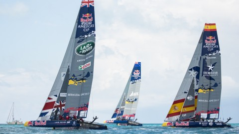 Extreme Sailing Series™ sailors outshine competition in Red Bull Youth America's Cup