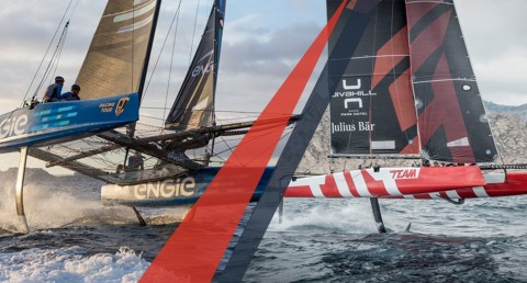 ENGIE and Team Tilt to throw down the wildcard gauntlet in Extreme Sailing Series™