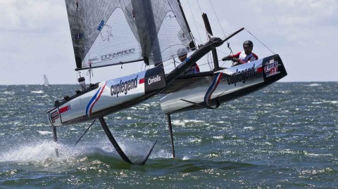 Flying Phantoms put on a foiling spectacle in La Baule