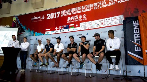Extreme Sailing Series™ Act 2 press conference – what they said