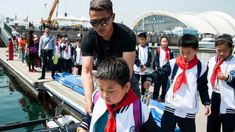 Guess who's Black: top Chinese sailor aims to inspire in hometown of Qingdao