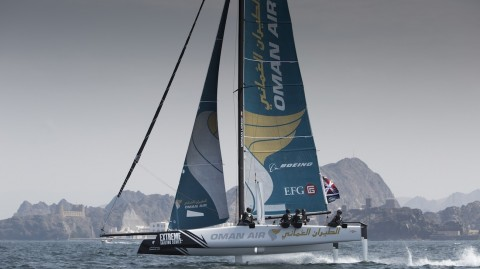 Phil Robertson to skipper Oman Air in 2017 Extreme Sailing Series™