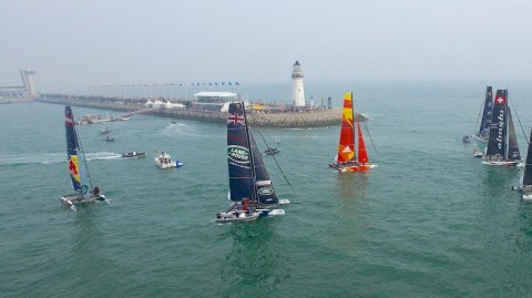 It's time for Qingdao and the China round of the Extreme Sailing Series™