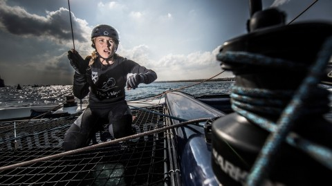 Sarah Ayton World Sailor of the year