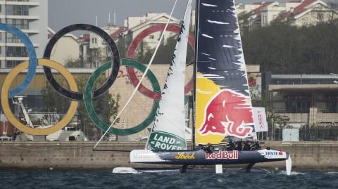 Las Extreme Sailing Series™ se preparan para el Acto 2 en Qingdao, China