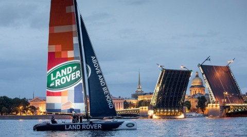 Land Rover BAR Academy announced for 2016 and Land Rover extends its commitment to the global series