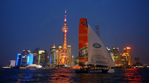 World first: Extreme 40 sails on the Huangpu River, Shanghai
