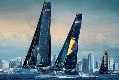 Extreme Sailing Series Travel packages
