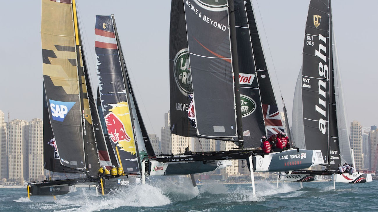 Image result for extreme sailing series san diego