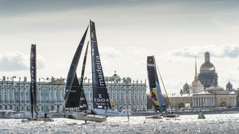 OC Sport cancels St Petersburg Act of the 2018 Extreme Sailing Series™