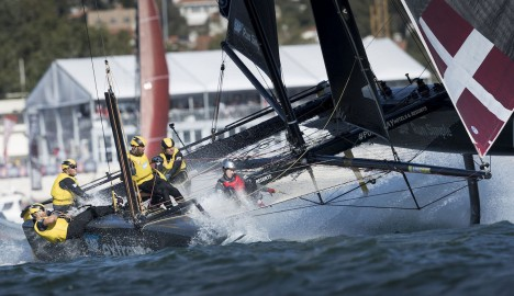 A day in the life of: An Extreme Sailing Series™ VIP