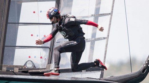 Sir Ben Ainslie to bolster Land Rover BAR Academy in Extreme Sailing Series™ Act 7, San Diego