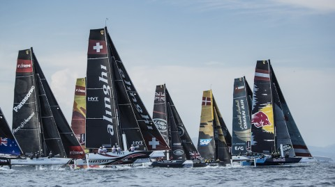 The 2018 Extreme Sailing Series™ is ready for take-off