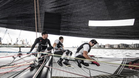 NZ Extreme Sailing Team bolstered by America's Cup champions