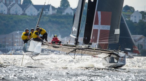 SAP Extreme Sailing Team steals the lead on day two in Cardiff