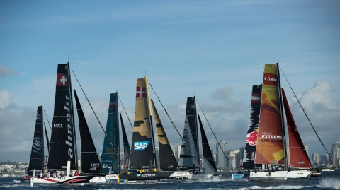 Clash of the Titans: Extreme Sailing Series™ fleet to face GC32 Racing Tour teams in first official GC32 World Championship