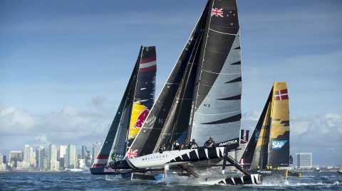 La tension monte à l'approche de l'épreuve finale des Extreme Sailing Series™ à Los Cabos