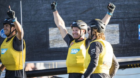 SAP Extreme Sailing Team triumphs in San Diego stand-off to extend overall Extreme Sailing Series™ lead