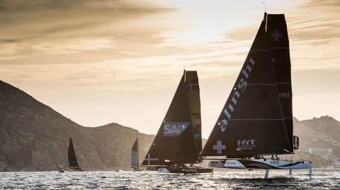 Alinghi raises its game and moves ahead at Extreme Sailing Series™ Act 8, Los Cabos, presented by SAP