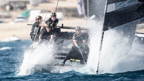 Oman Air comes out top on opening day of Extreme Sailing Series™ finale in Los Cabos