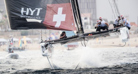 Exclusive VIP Packages offered at the 2018 Extreme Sailing Series™ make for a once in a lifetime experience